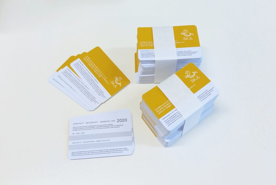 Liiton jäsenkortit 2020
