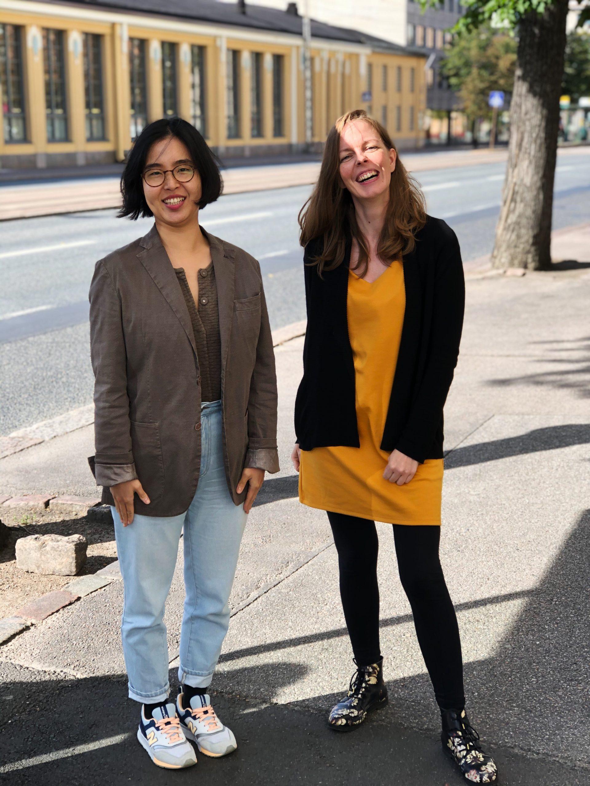 Min Kim ja Veera Pajula